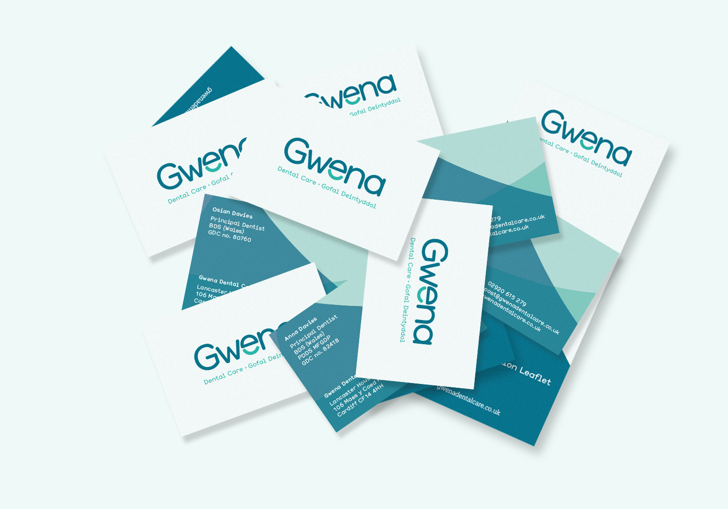 Gwena Dental Cardiff business cards.png