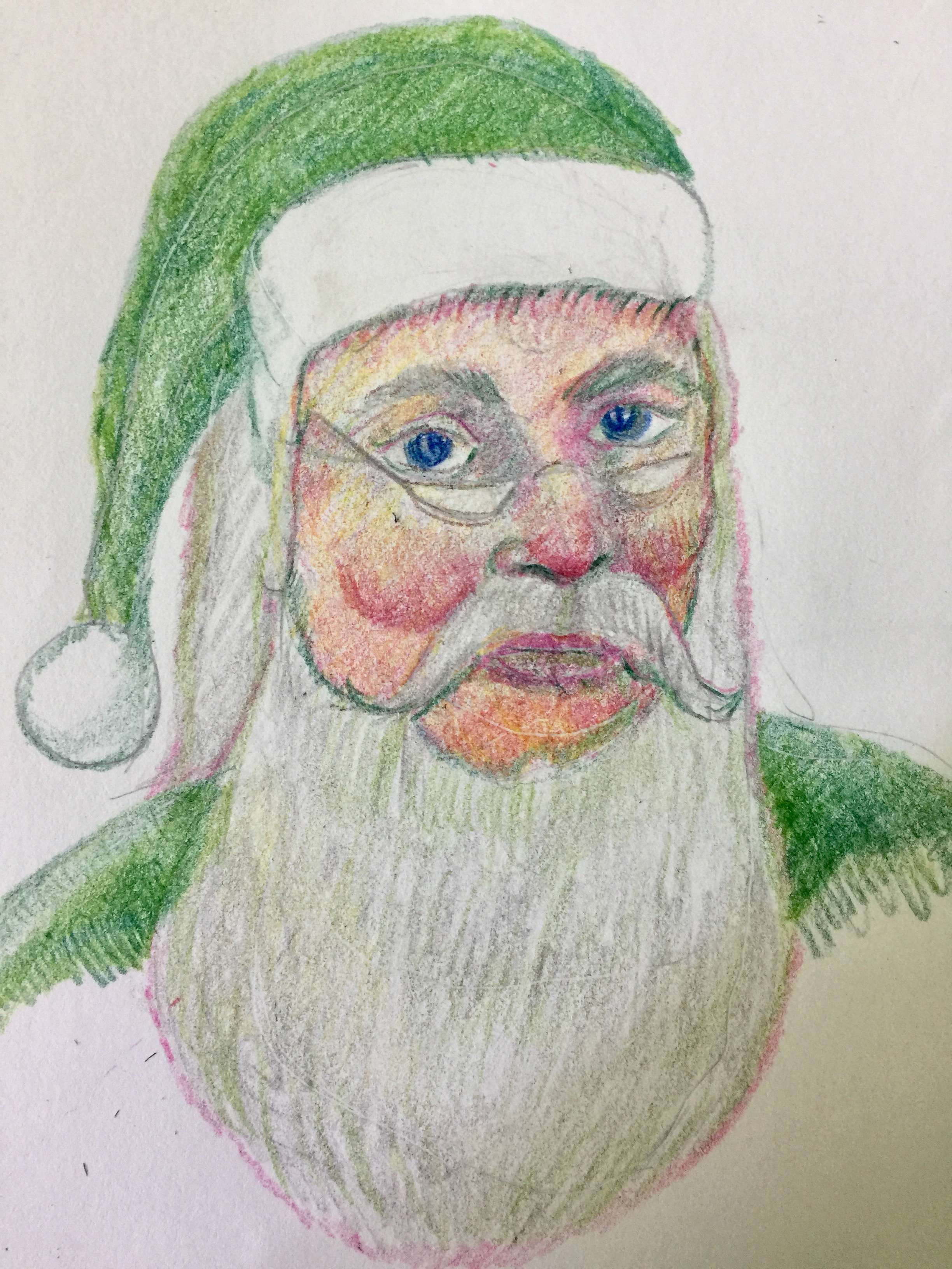 """Help Santa Go Green"""
