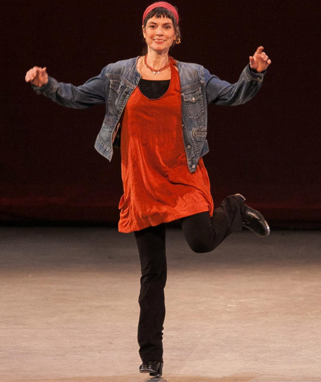 Amy Fenton Shine is an accomplished dancer specializing in clogging. She has toured throughout the United States and abroad with Fiddle Puppets, mesmerizing her audiences with quick footed, percussive dance. She has danced with The Vanaver Caravan since 1999.