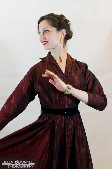 Emily Vanston has been teaching and performing with the Vanaver Caravan since 2009. After a decade of living and dancing in New York City, in 2015 she moved to the Hudson Valley, where she now teaches swing and percussive dance classes. Photo by Eileen O'Donell Photography.