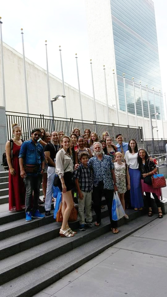 SummerDance On Tour at the United Nations Youth Delegates Assembly. August 2016.
