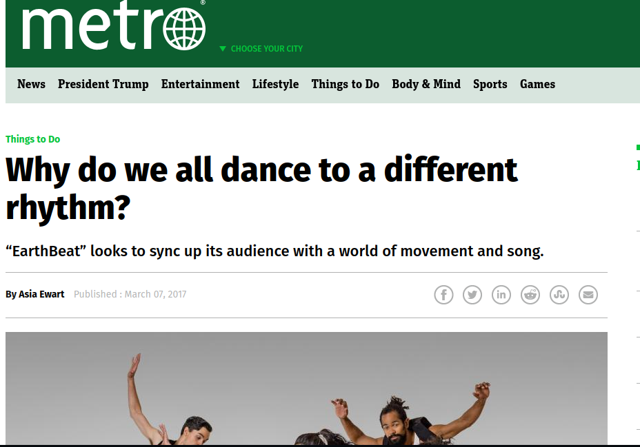 Metro News Article