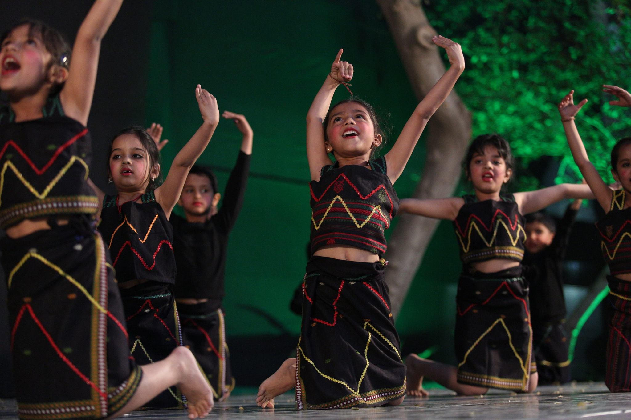 Photo by R.J. Partington from our 2016 school performance at Happy Hours School in Jodhpur, Rajasthan, India.
