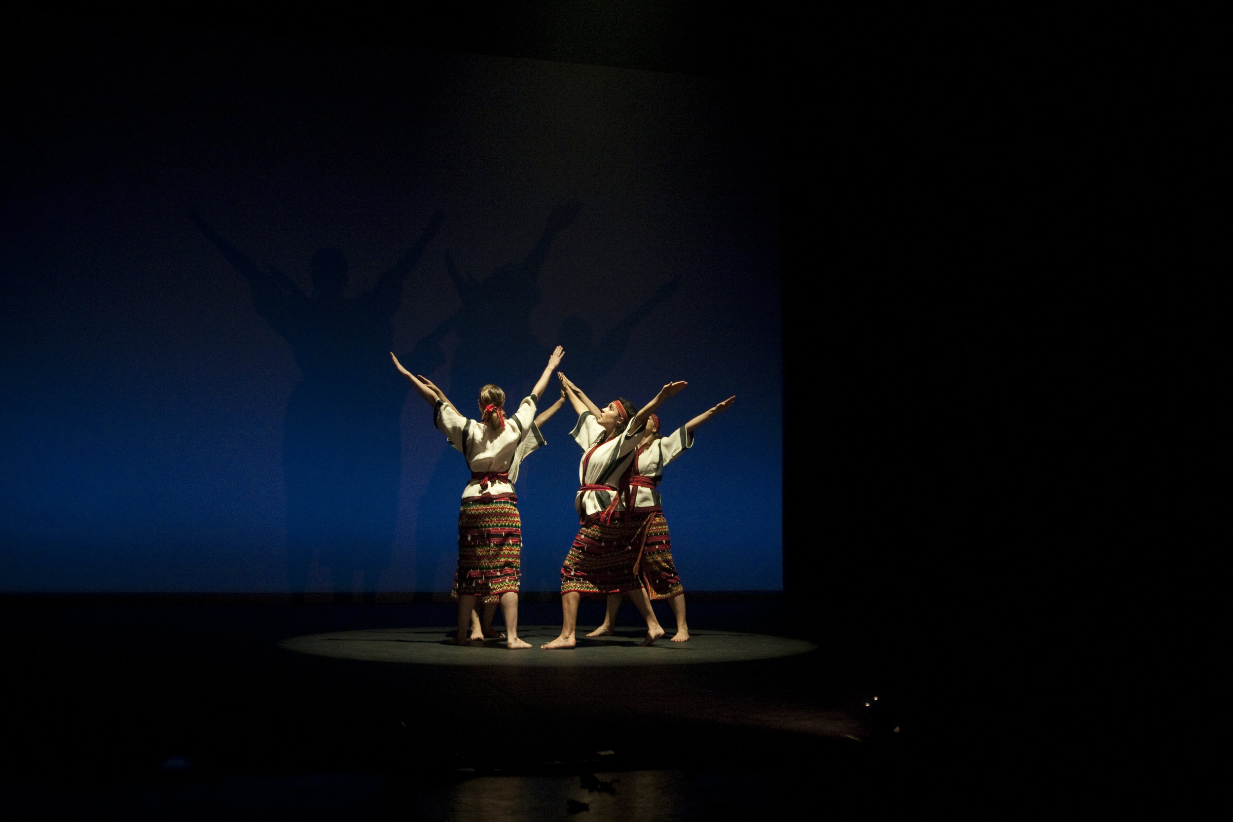"Picture from ""Earthbeat: A Journey"", our last full-length performance at Jacob's Pillow. 2011."
