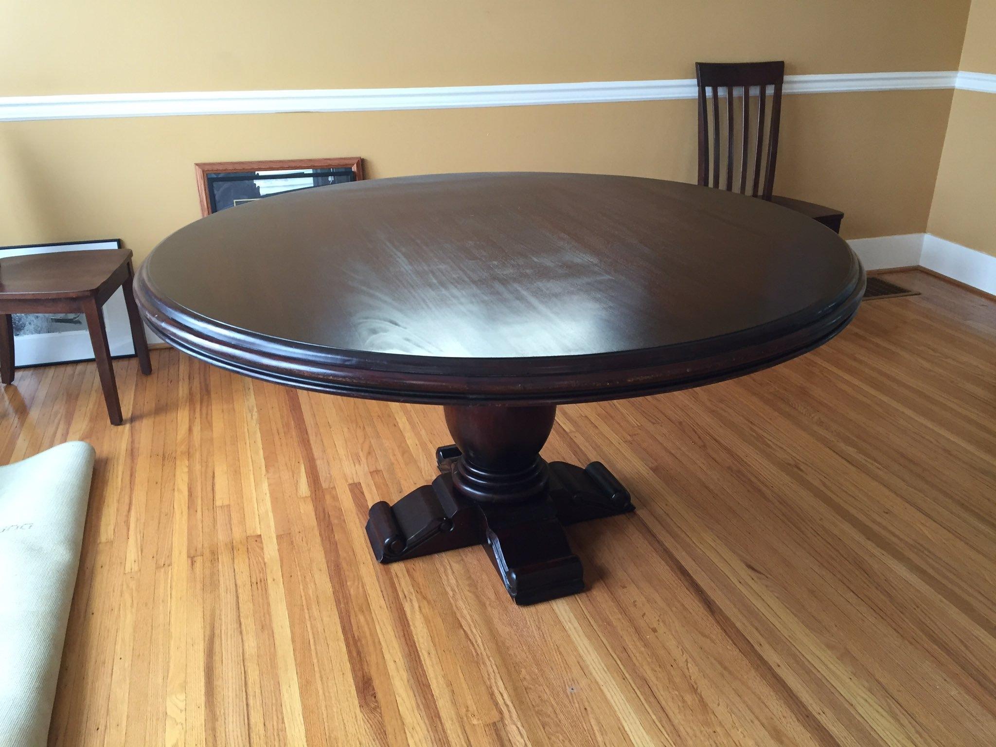 24270 Drake 5' Round Pedestal Dining Table