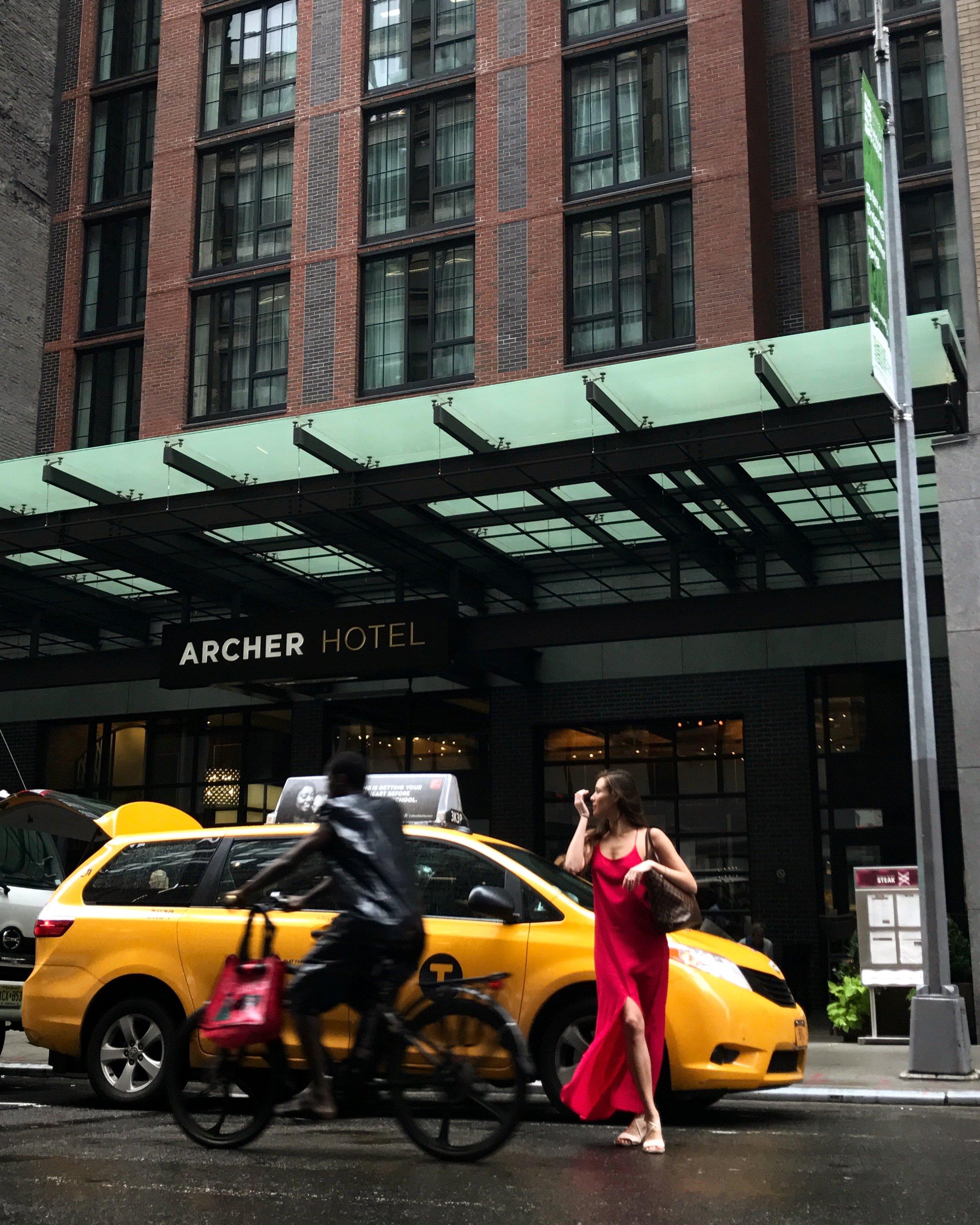 Archer Hotel, wearing Isle of White