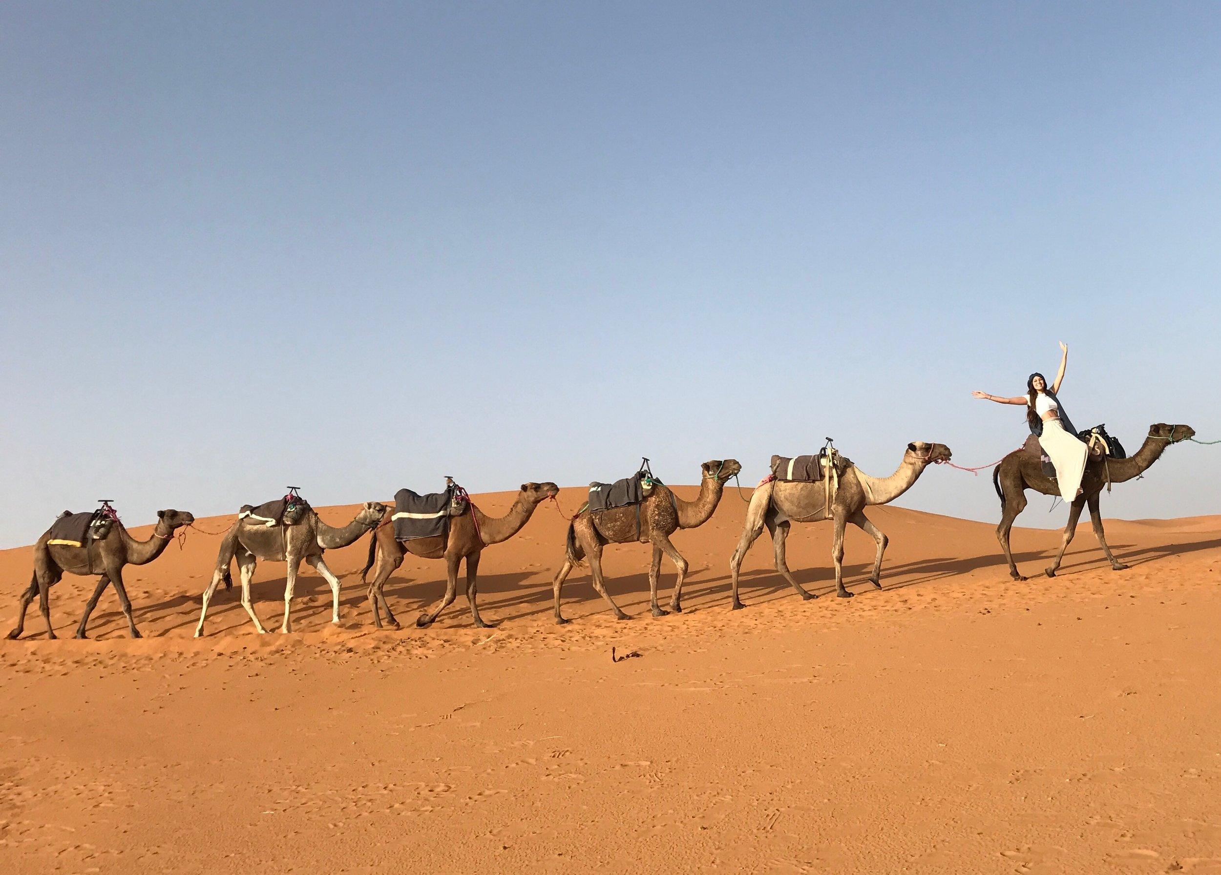 Sahara Desert - Merzouga Morocco, October 2016