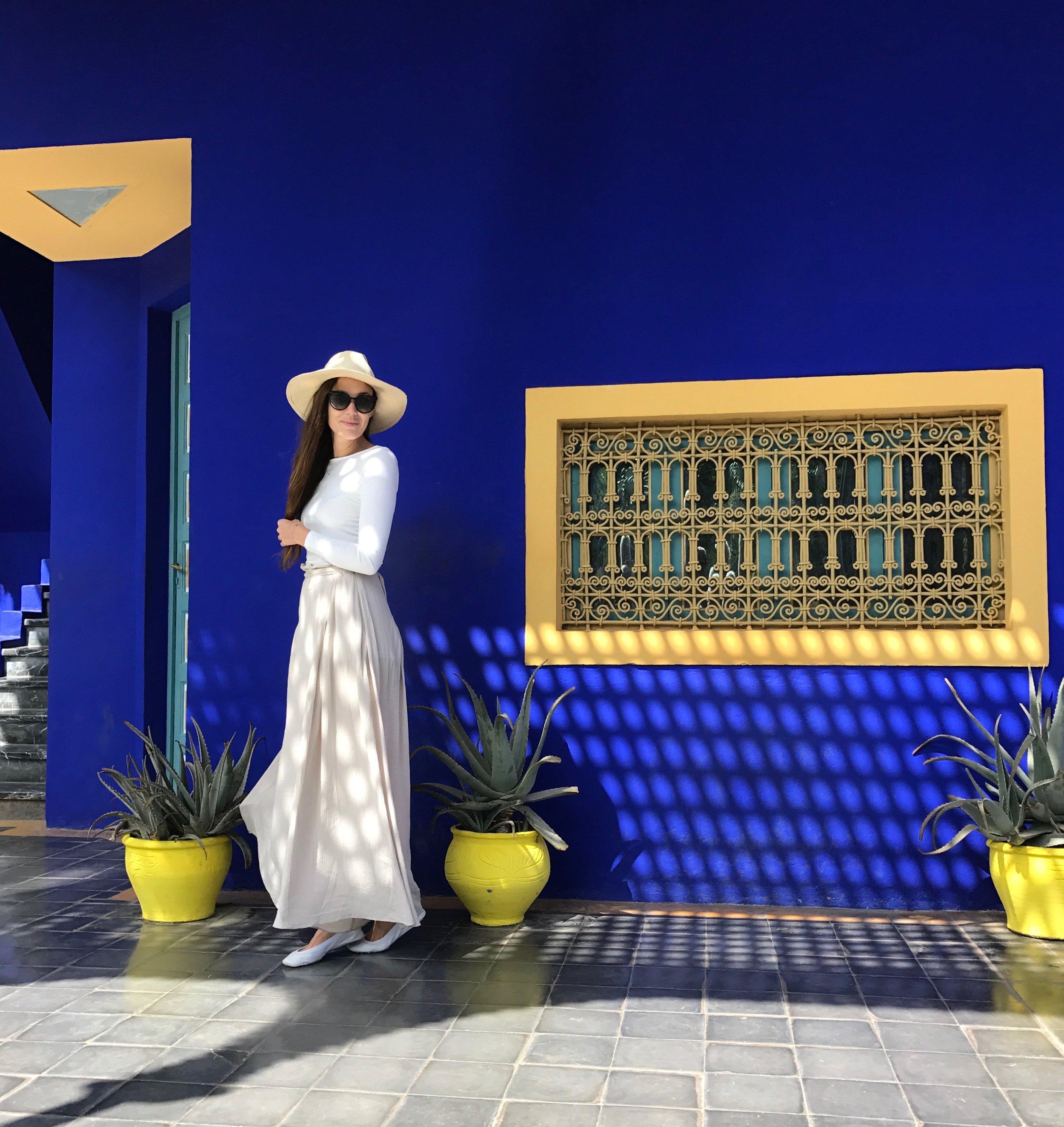 Jardin Majorelle - Marrakech Morocco, October 2016