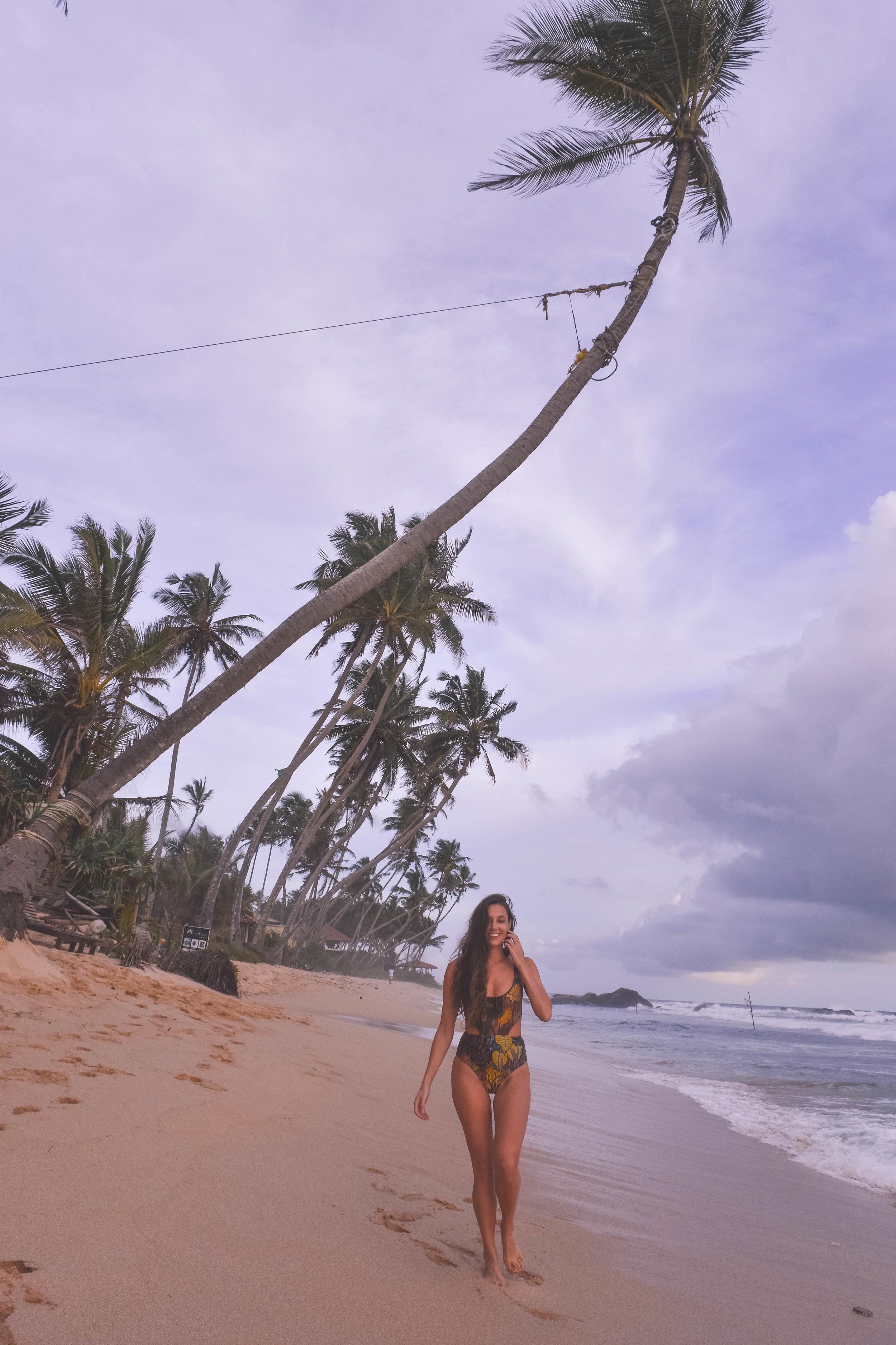 Unawatuna Beach, Galle Sri Lanka