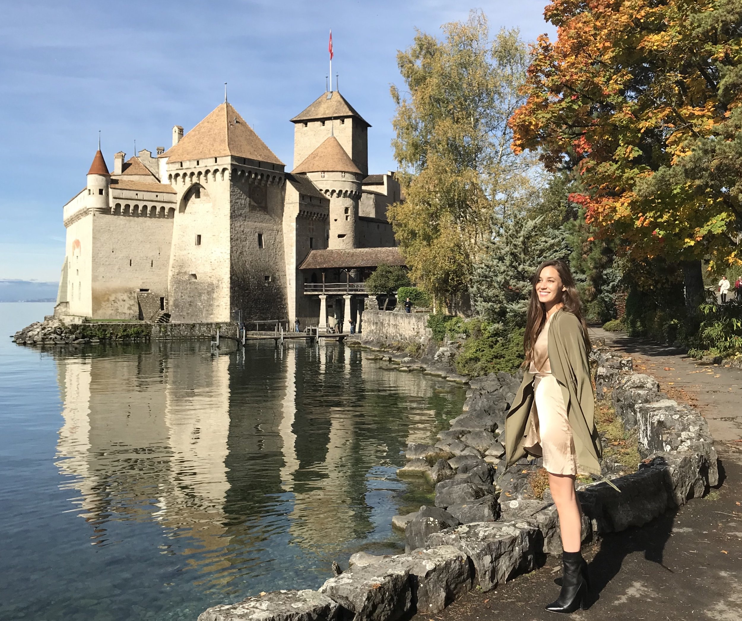 Chateau de Chillon near Montreux Switzerland