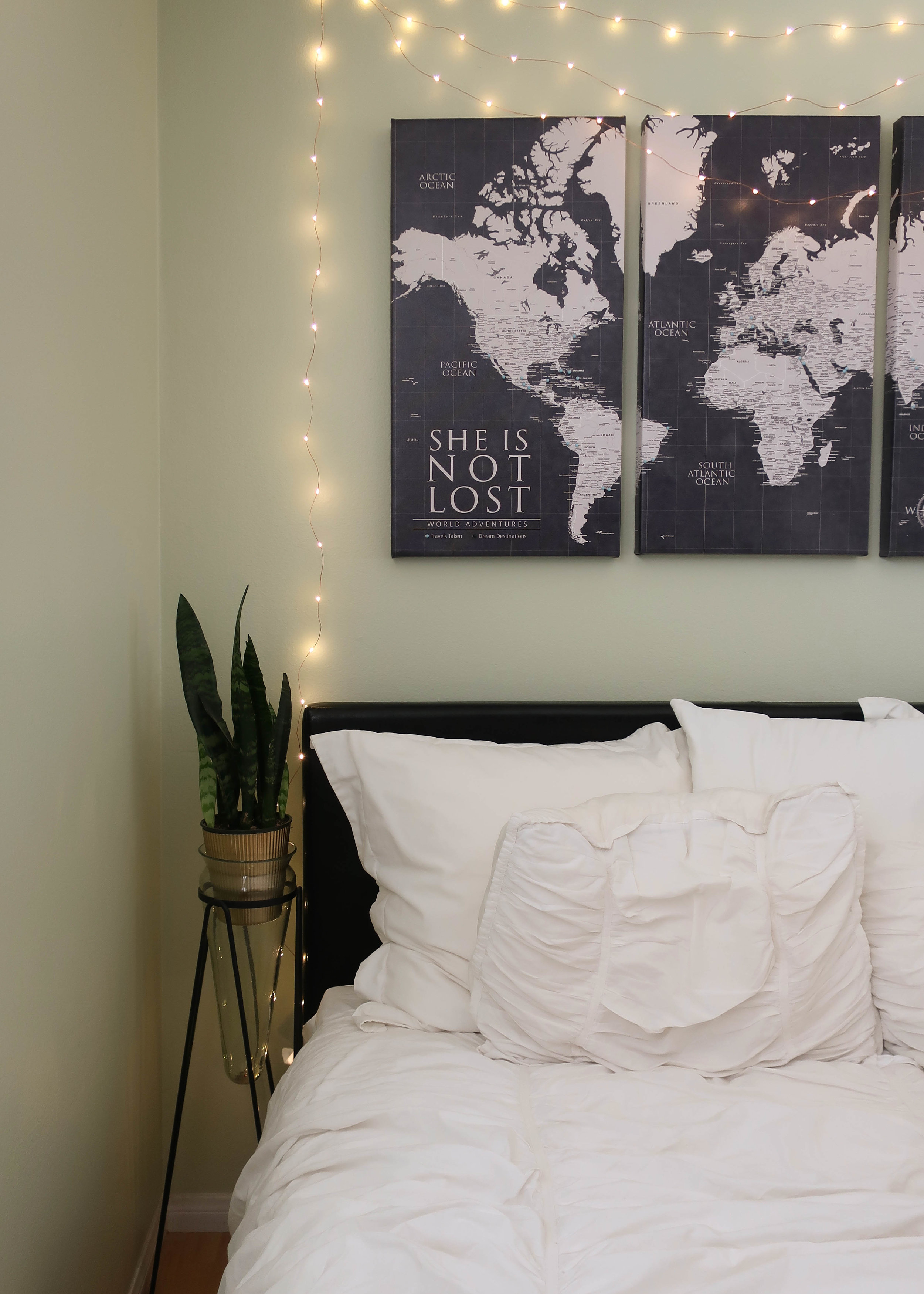 Choose a map that compliments your space.