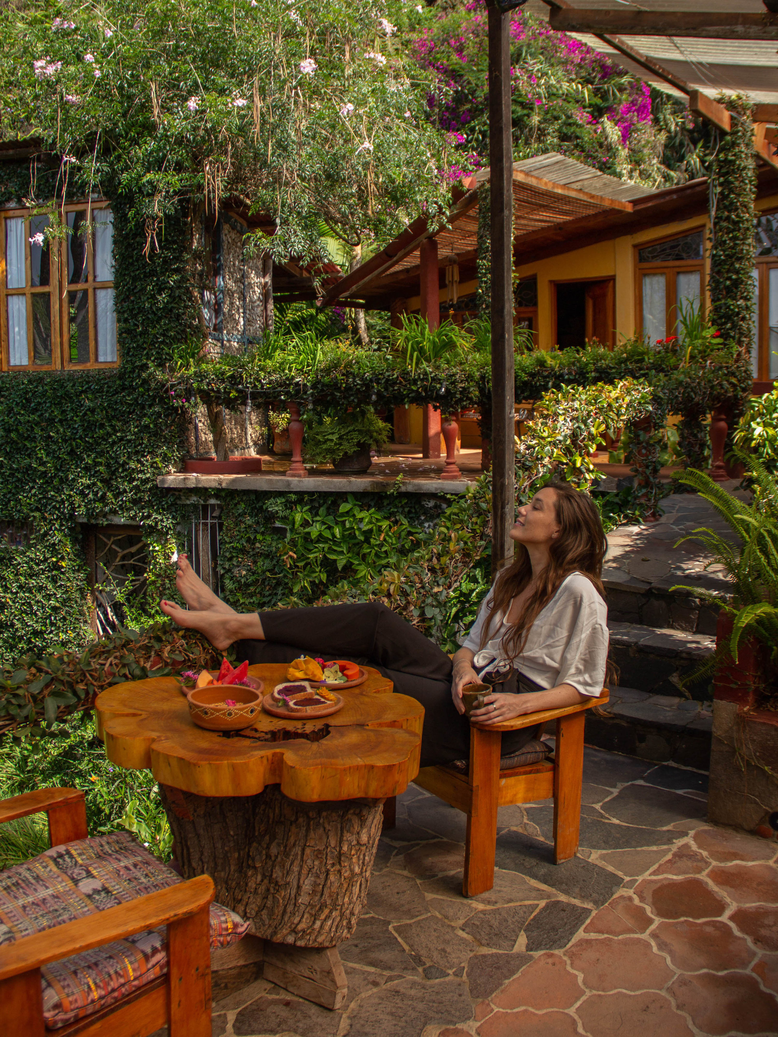 Breakfast at Lush Atitlan