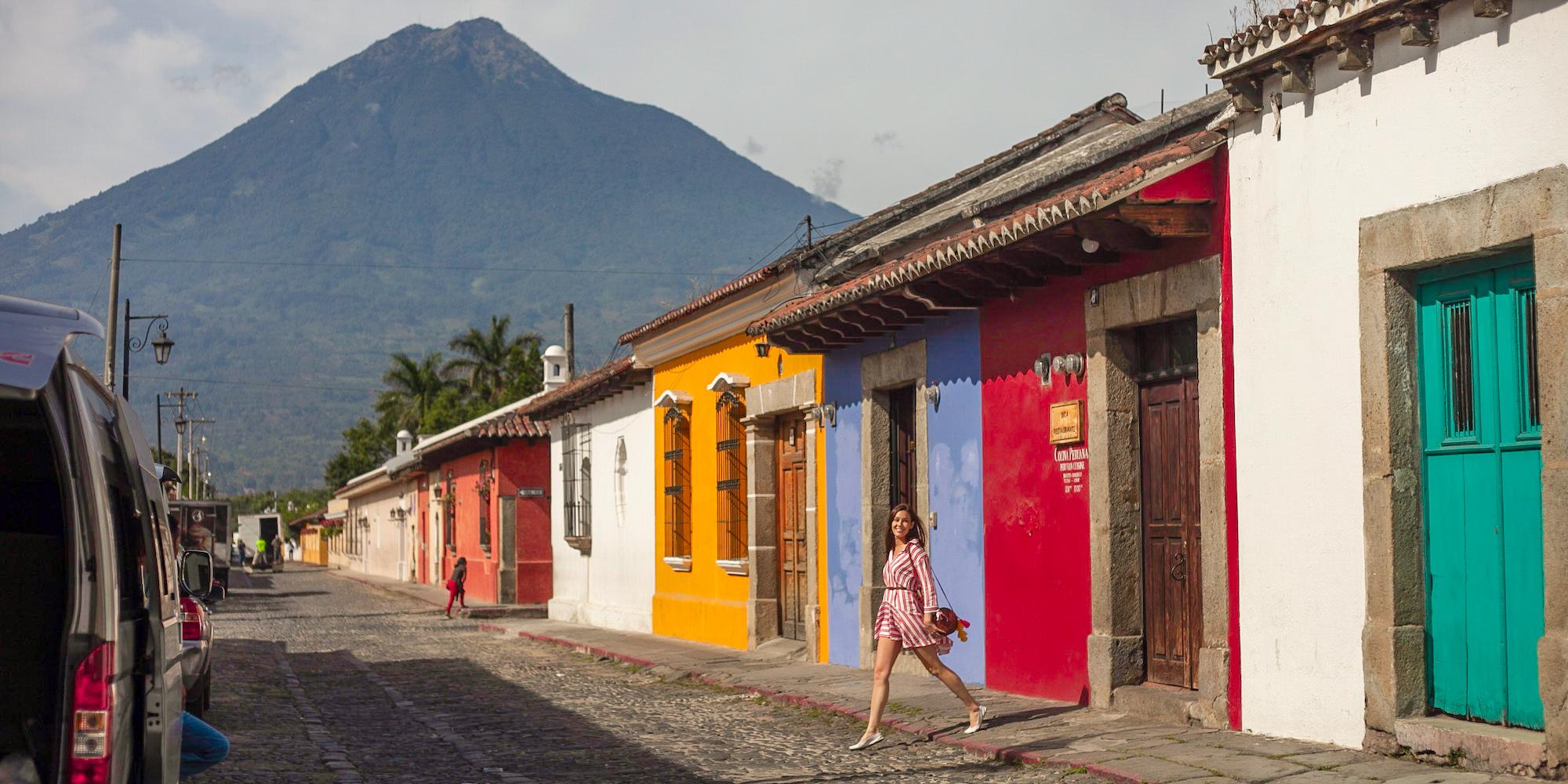 Carina Otero in Antigua, Guatemala