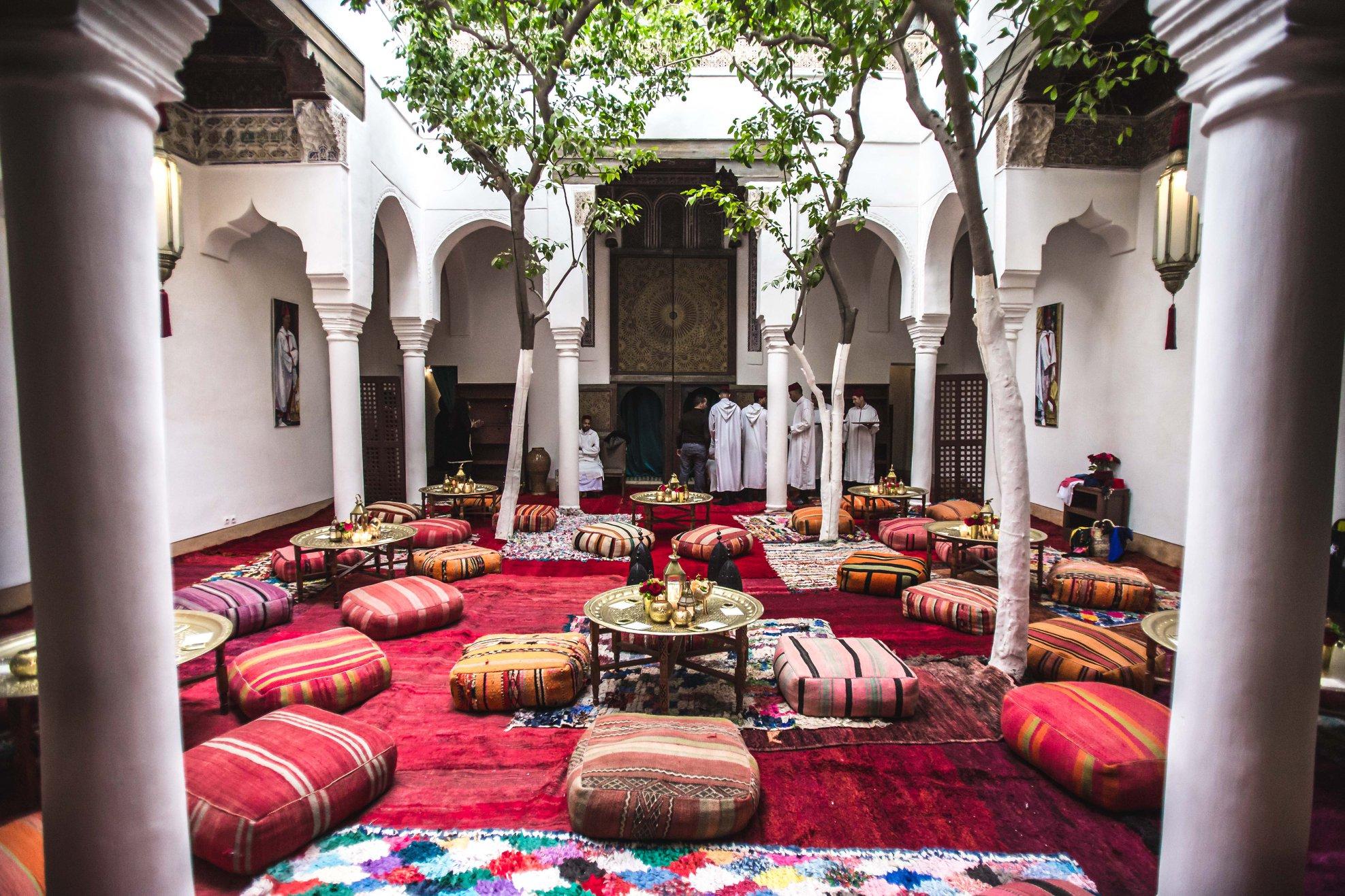 TIS Marrakech Welcome night at Dar Zellij Restaurant.
