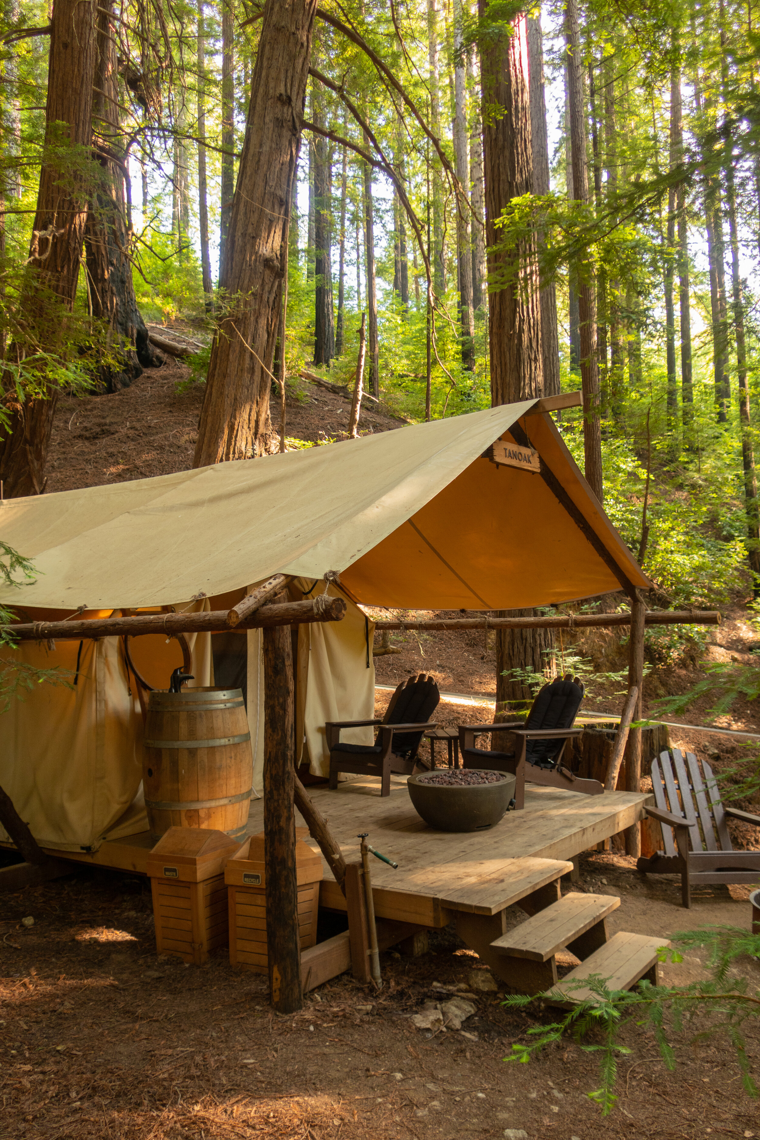 My Experience Glamping At Ventana Big Sur California She Is Not Lost