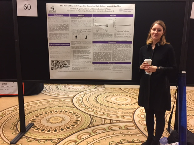 Liz Quinn presenting her research at MPA 2018.
