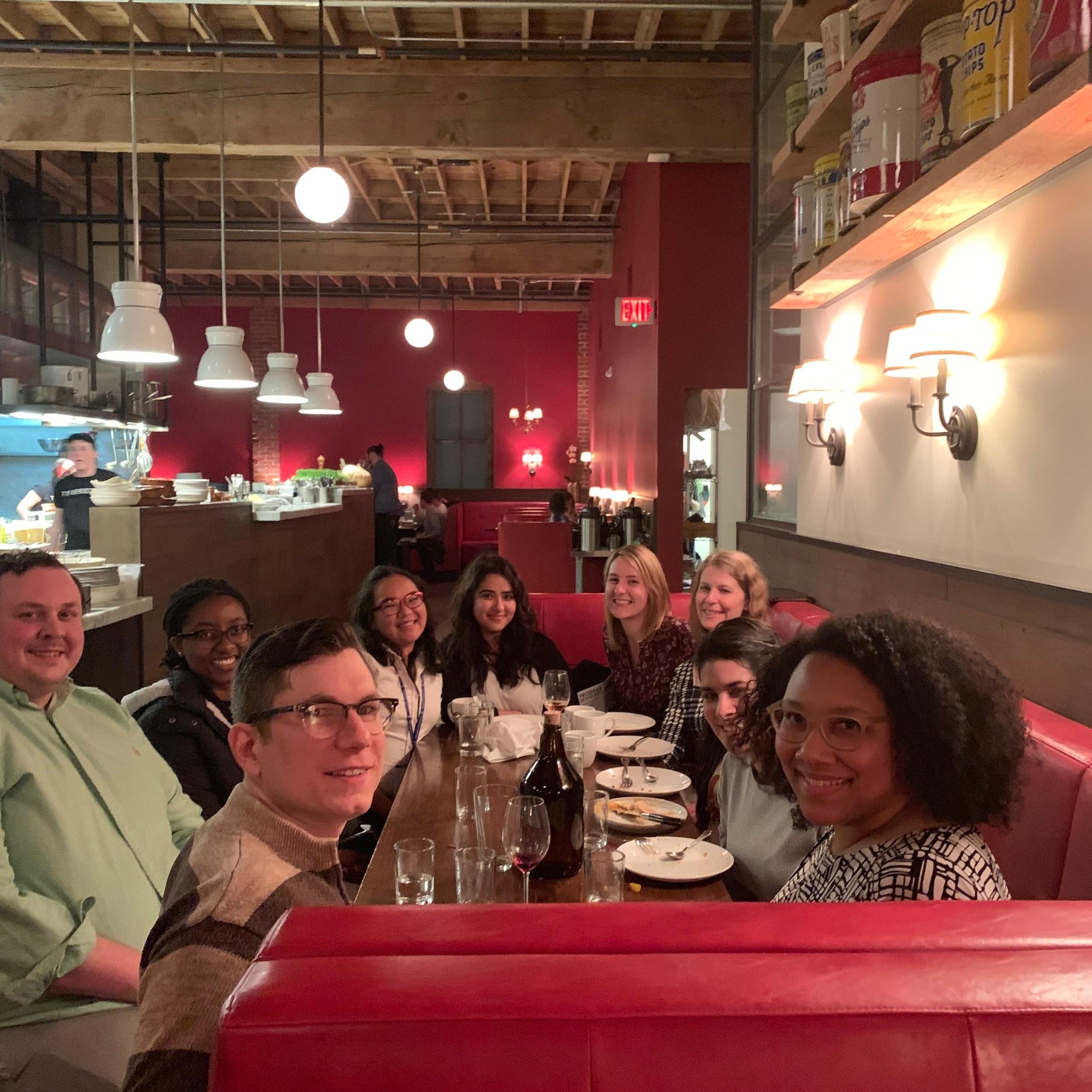 Lab Dinner #SPSP2019