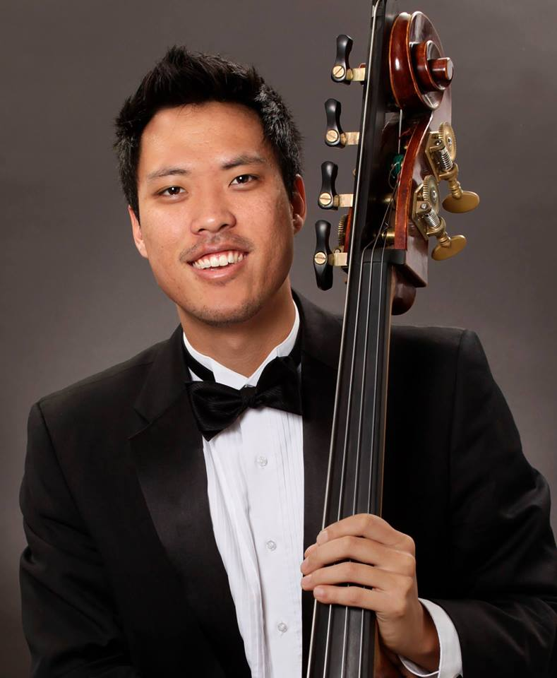 CHRIS KIMBASS INSTRUCTOR - A Colorado native, Mr. Kim received his BM from the University of North Texas in Denton, TX under the tutelage of Jeff Bradetich. Mr. Kim also earned his MM from Indiana University under the study of Bruce Bransby. Mr. Kim began playing the Piano at age 6, and the Violin at 10. It was in middle school that Mr. Kim began playing the Double Bass around the age of 12 and has been playing ever since. Mr. Kim has participated in summer festivals including Aspen Music Festival and School in 2013 & 2014, and also NRO in 2015 in Breckenridge, CO. Mr. Kim was also a finalist and has subbed with the New World Symphony in Miami, FL. Currently, Mr. Kim resides in Portland, OR where he is an acting member of the Oregon Symphony and is an active teacher in the Portland area.