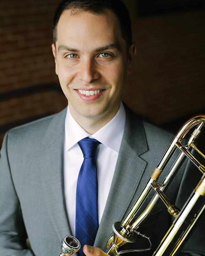 Michael MaierLOW BRASS INSTRUCTOR - Michael Maier is thrilled to teach at Young Musicians and Artists, which he has done since 2017!He plays Second Trombone in the Boise Philharmonic and also Acting Associate Principal Trombone with the Hawaii Symphony Orchestra. Maier has performed in a wide variety of groups, including the Colorado Symphony, San Antonio Symphony, Utah Symphony, Virginia Symphony, Oregon Symphony, Malaysian Philharmonic, Syracuse Symphony Orchestra, Chicago Symphony, the Tonhalle Orchestra, and the Sun Valley Summer Symphony. He is an active music educator. He guest taught the low brass studio at Boise State University in fall 2015 and 2018. In 2015 Maier was a guest with the Mirari Brass Quintet, giving recitals and masterclasses around the country. Maier taught at the Reaching Heights Summer Music Camp in 2018 in his hometown of Cleveland Heights, OH. He was a fellow in the Zurich Opera's Academy program in 2007-08. He earned his BM from Northwestern University in 2007 and his MM from The Juilliard School in 2011.