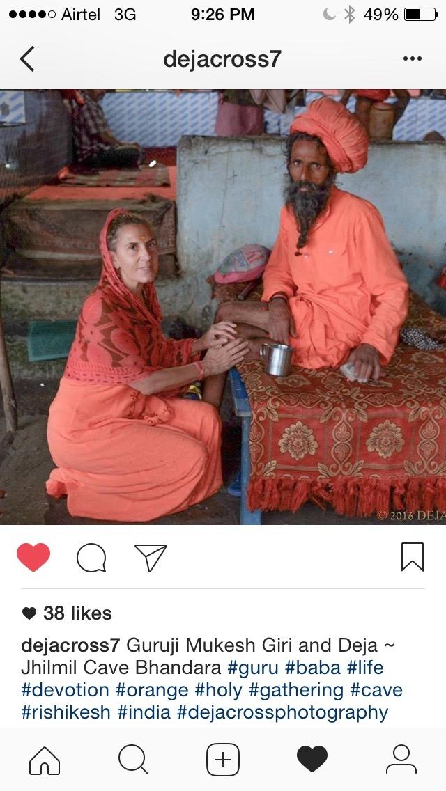 Deja and Guru-Ji