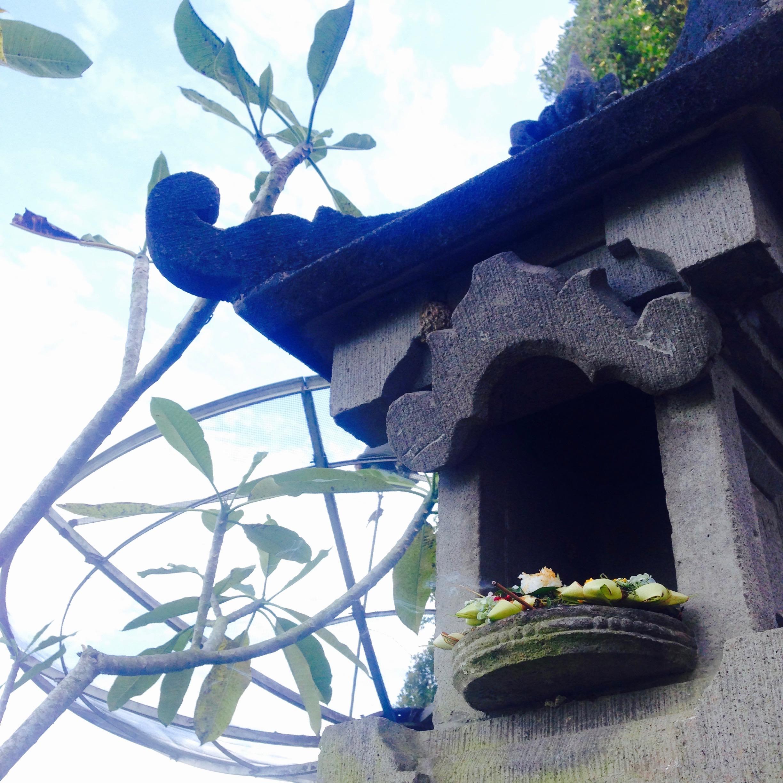 Altar at Gangga homestay