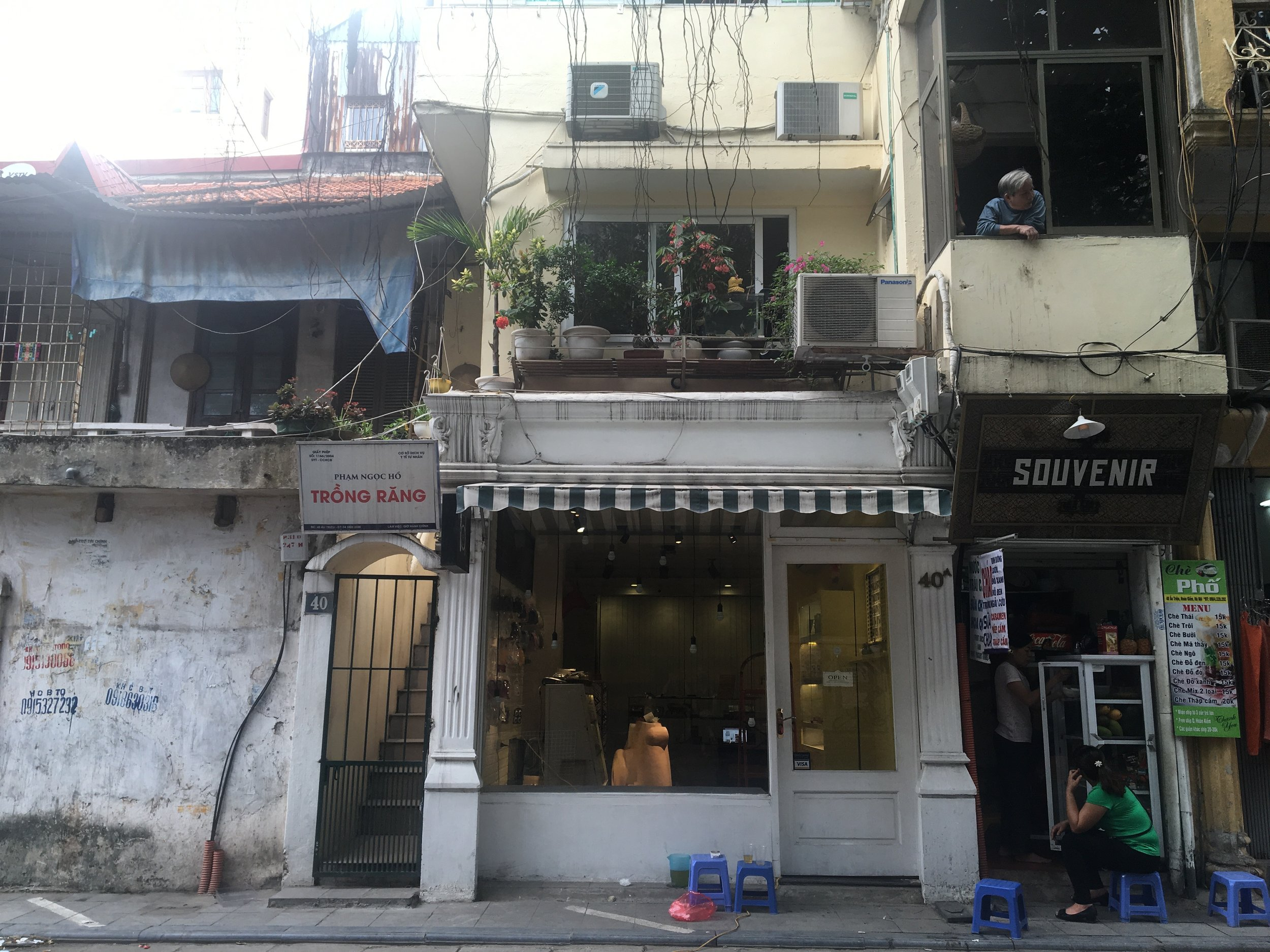 Last day in Hanoi on my favorite little street