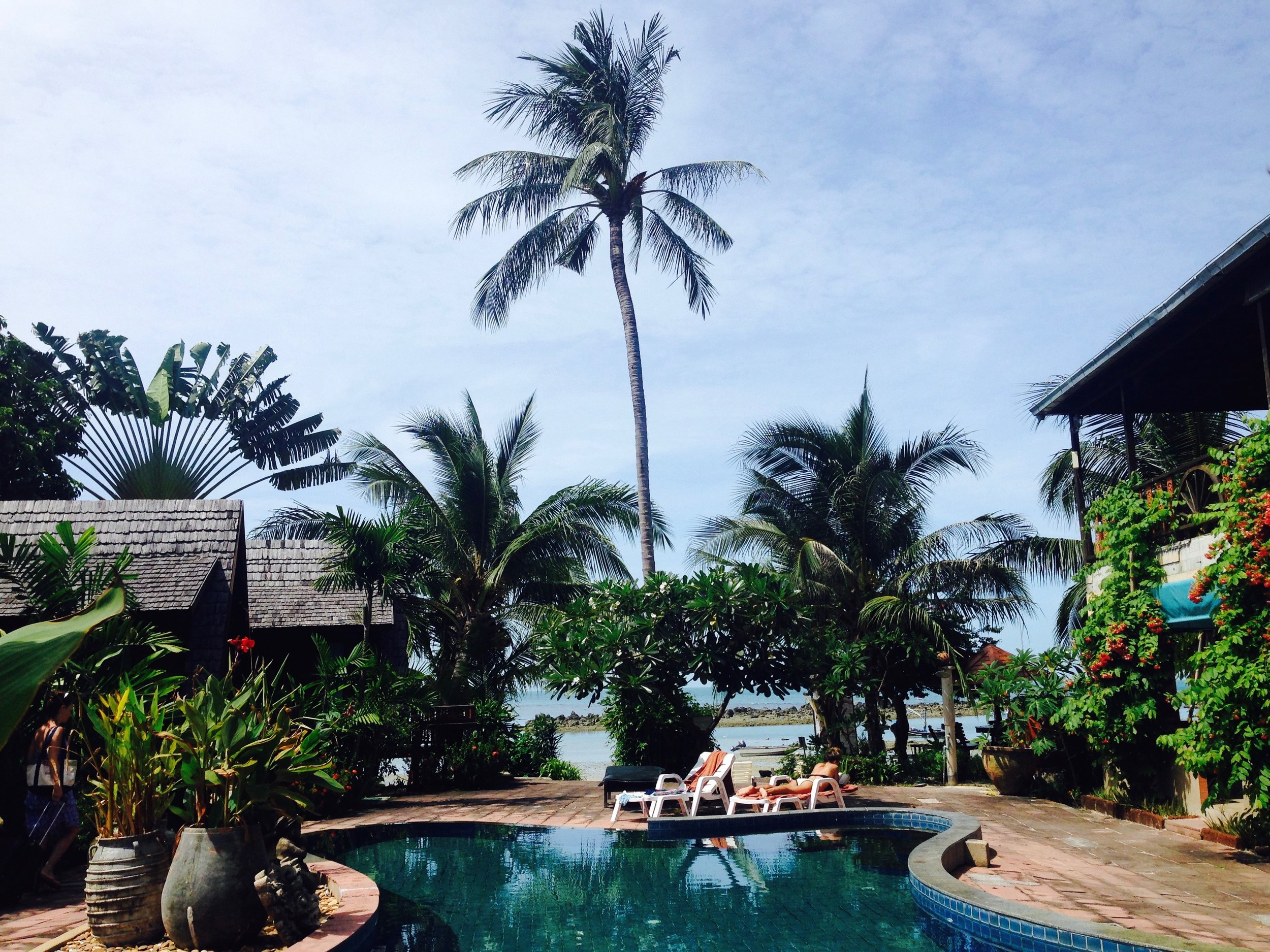 I can see why spas are the perfect place to do a 7 or 7+ day cleanse: paradise all around you