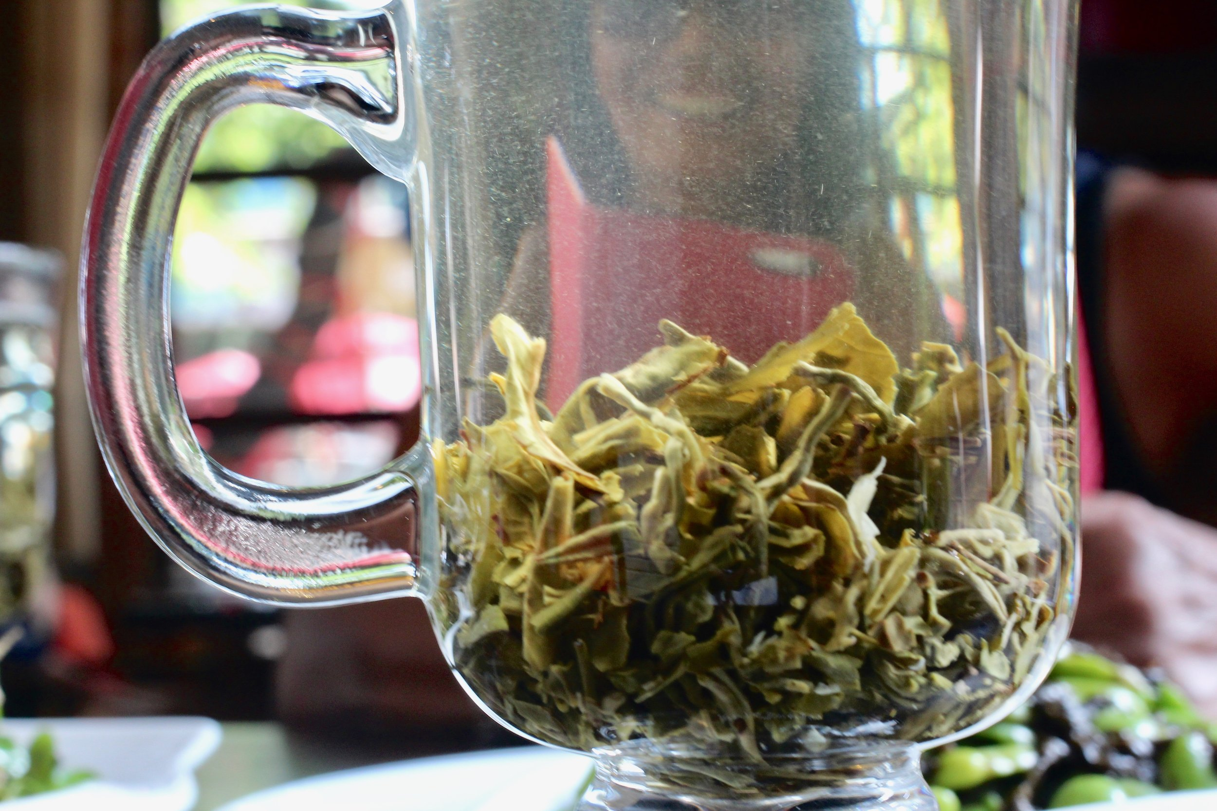Either Jasmine or Oolong tea at Zen Beans