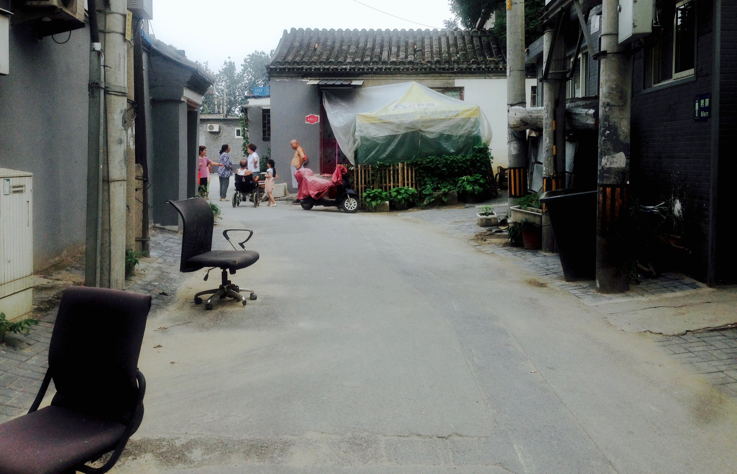 and head back to the hutong, where the crowds are less and hardly a mess.