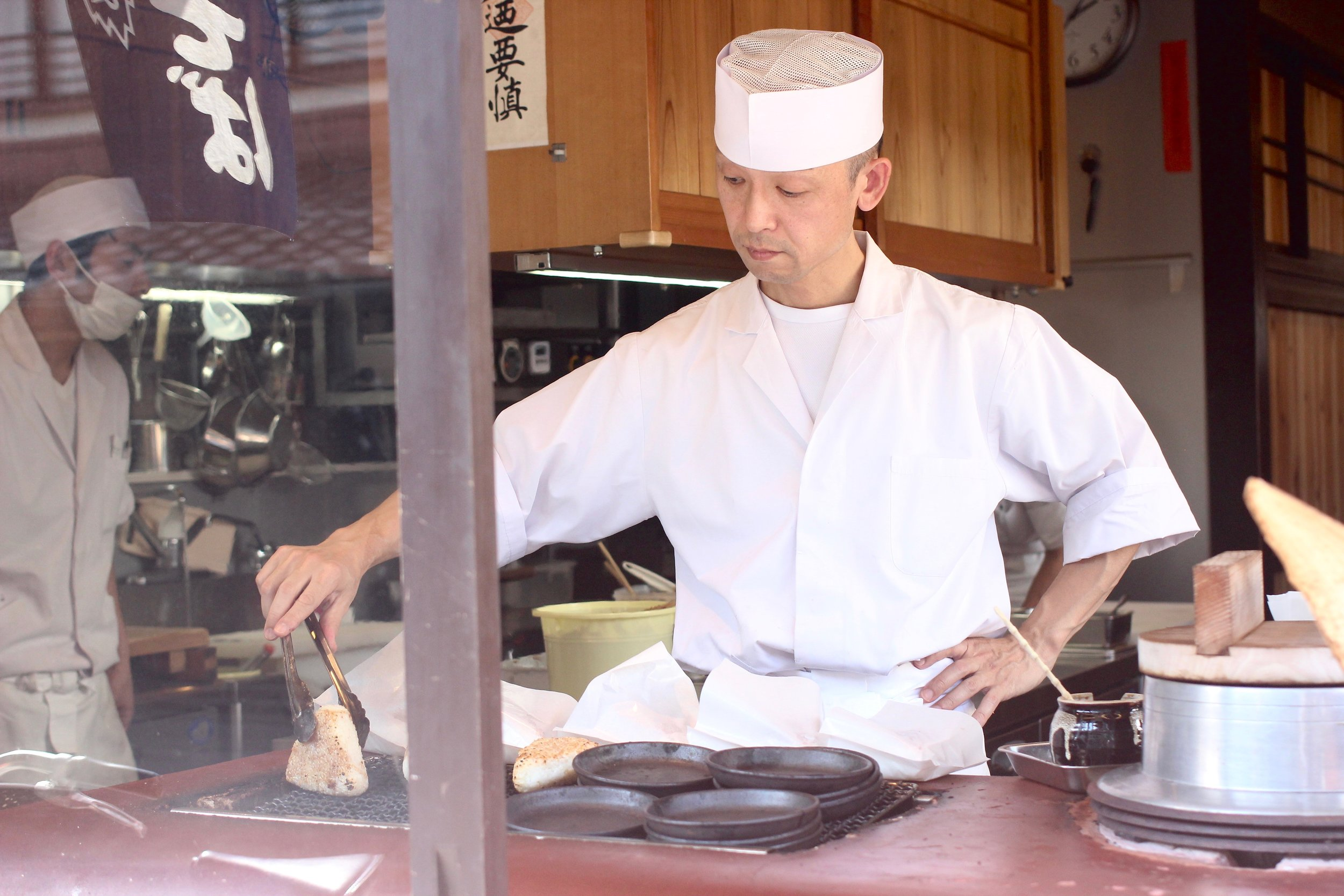 Hail to all the Japanese chefs