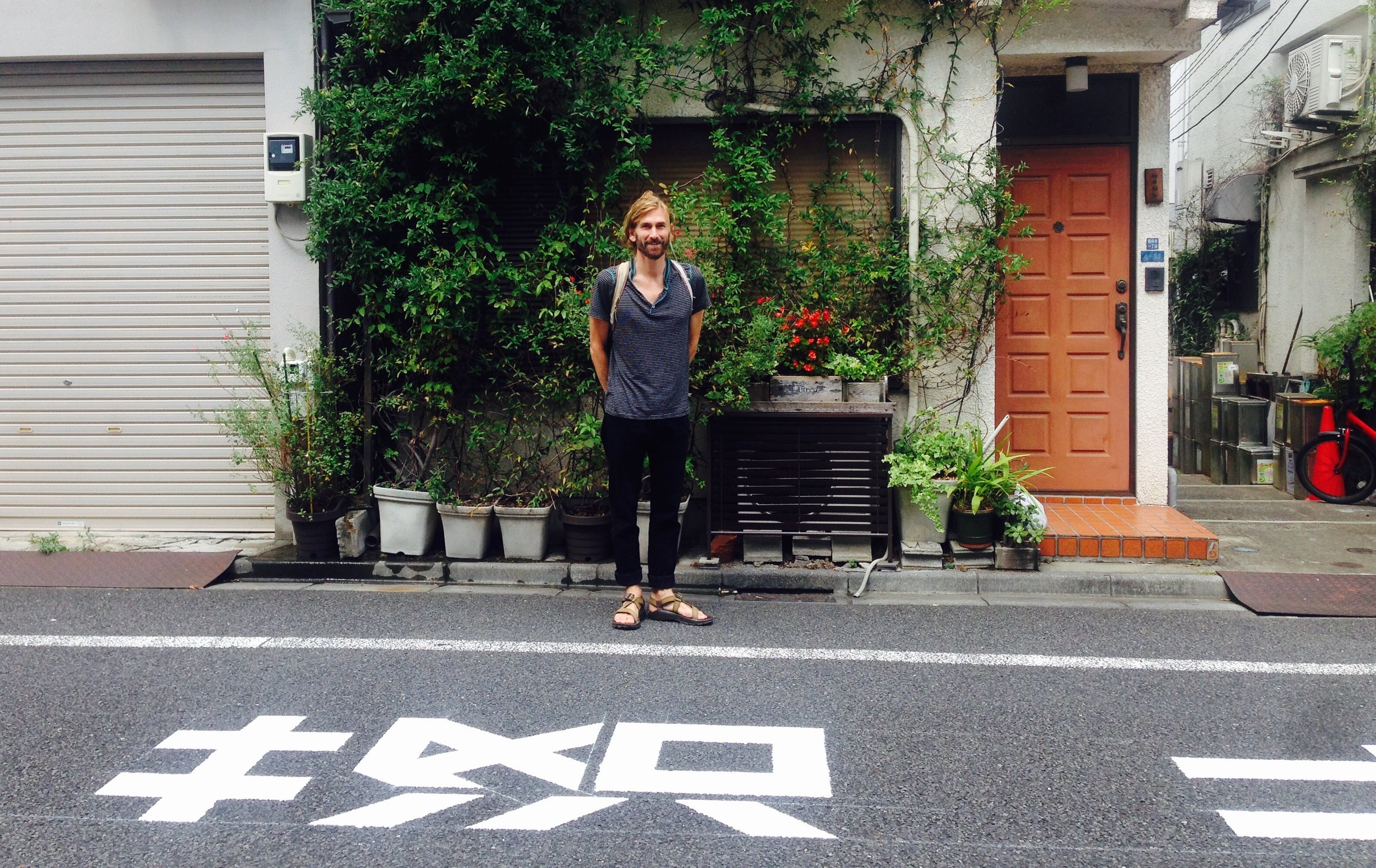 Wandering the residential streets of Roppongi