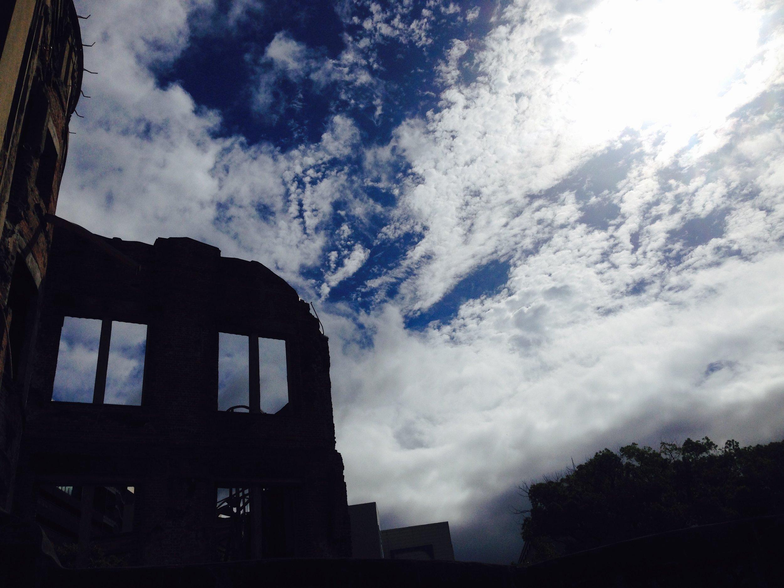 A Bomb Dome in Hiroshima Peace Memorial Park