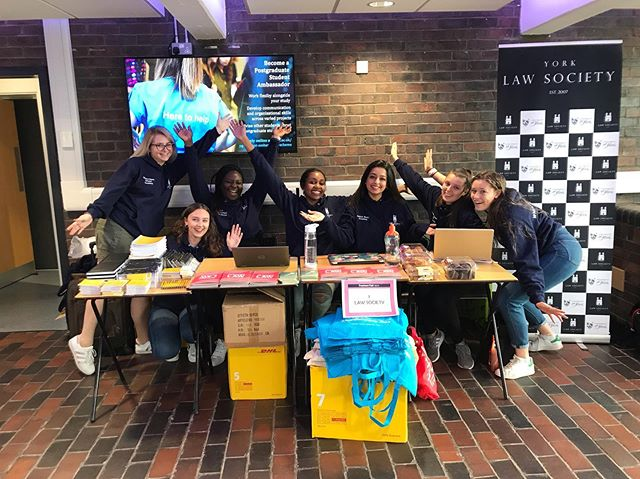 We had a lovely day meeting you all at the Fresher's Fair and so pleased to welcome so many new members !! You will be able to collect your membership cards at the President's  Welcome Party on 20th October - head to Facebook for more info ✨