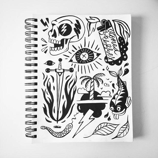 Sketchbook summer #2 . . . . . . . . . . . . . . . . . . . . . #ink #sketchbook #pentelbrushpen #comics #character #illustration #blackandwhite #drawing #artist #instaart #art