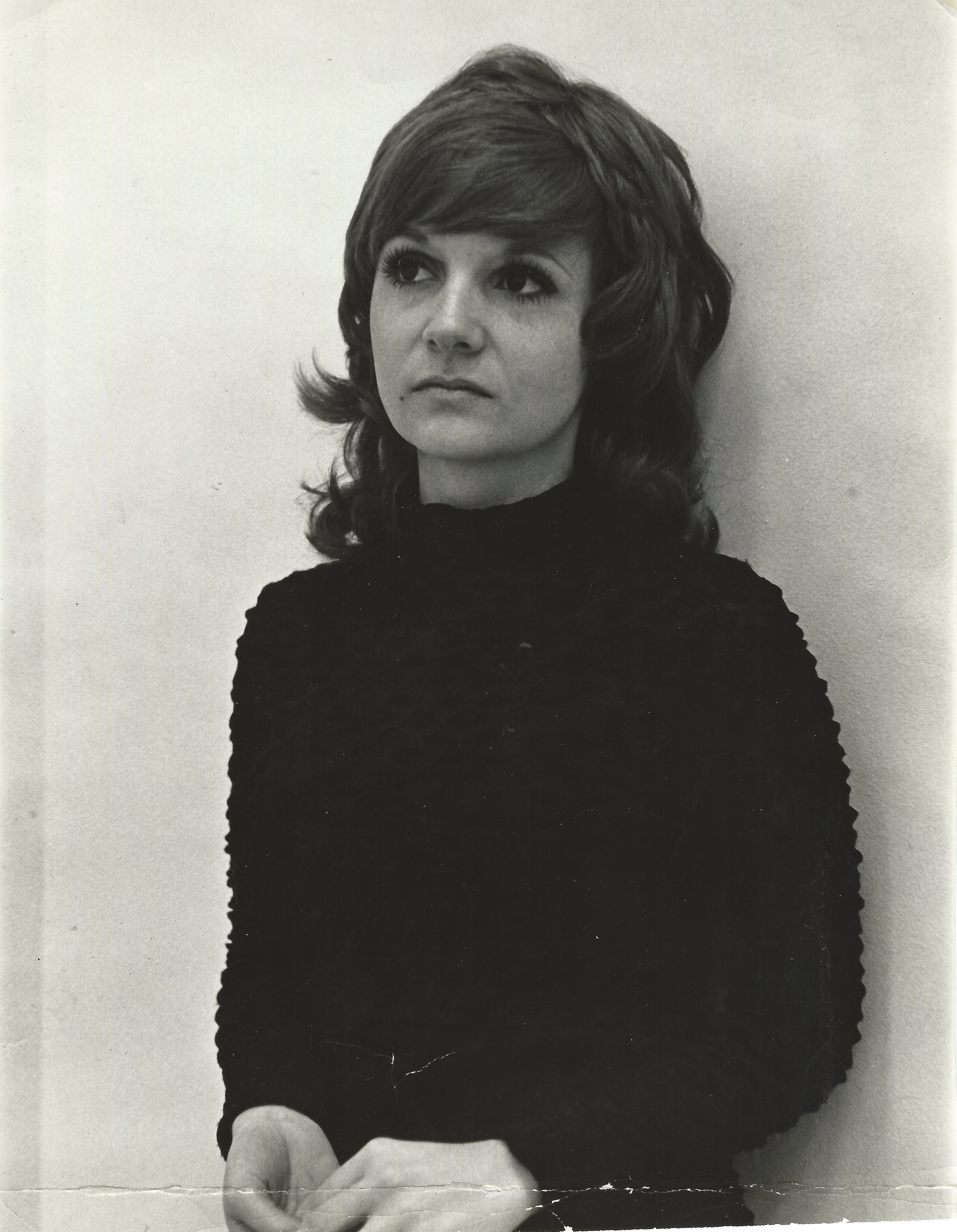 One of my first casting call photos circa 1972.  So serious, so dramatic, so wide-eyed.