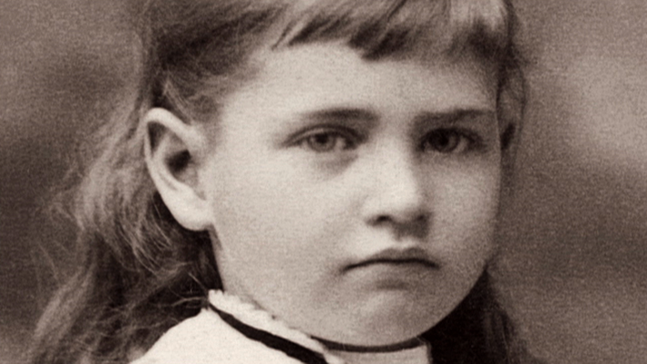 Willa Cather as a young girl