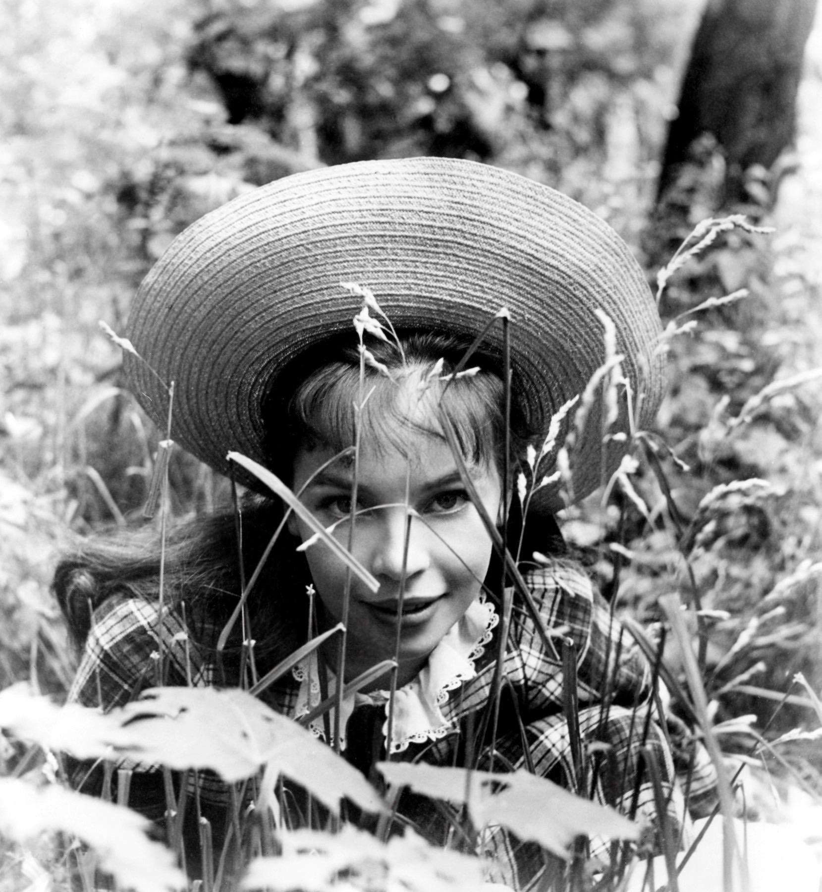 "Leslie Caron as the young Gigi, in ""Gigi"""