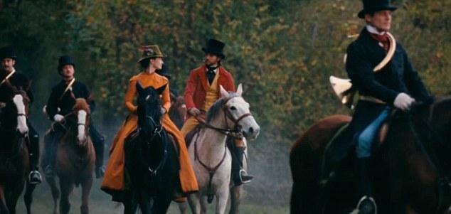 "Mia Wasikowska and Logan Marshall-Green in ""Madame Bovary"""
