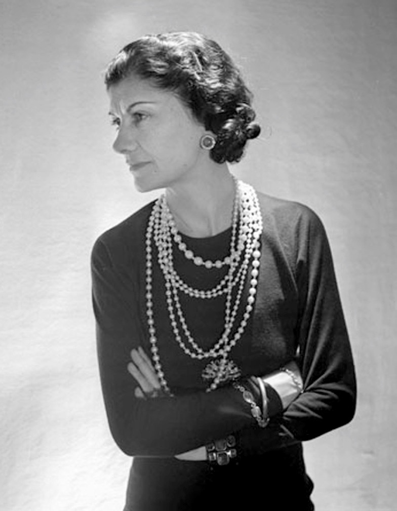 Coco Chanel and her legendary pearls