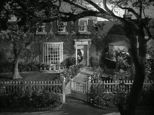 Some dream houses are only in the movies-- Mrs. Miniver's House from 1942, (built on the MGM lot)