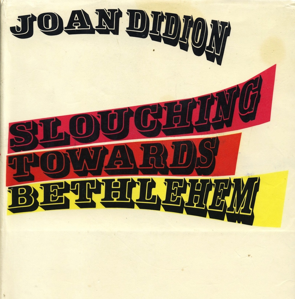 "Cover of ""Slouching Towards Bethlehem,"" the book that started it all"