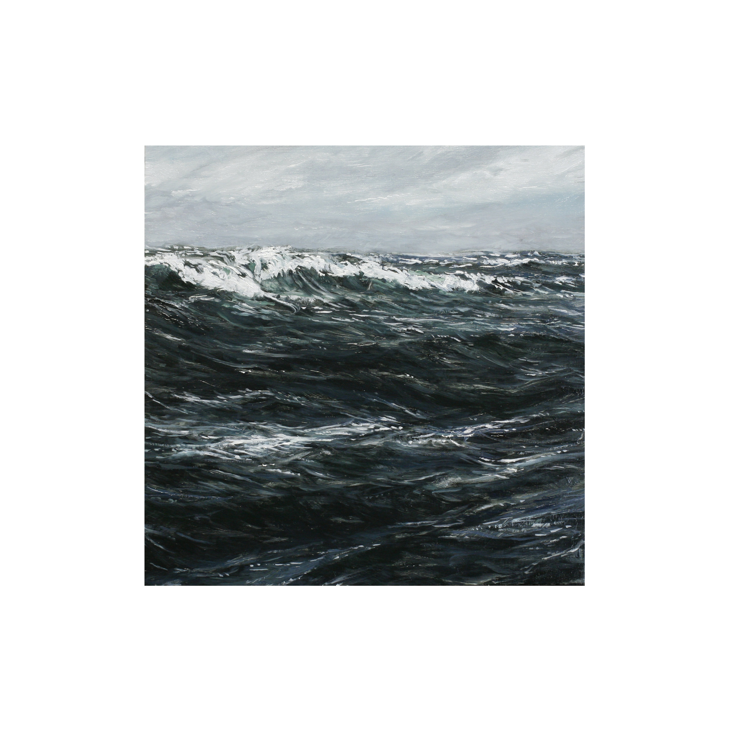 Seascape Oil Painting 6 in x 6 in