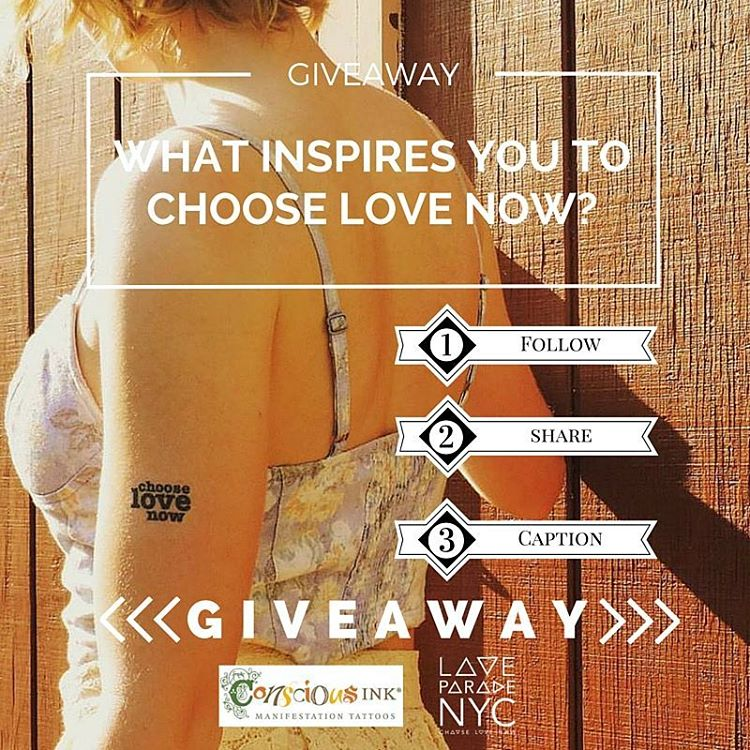 Instagram Giveaway with Conscious Ink