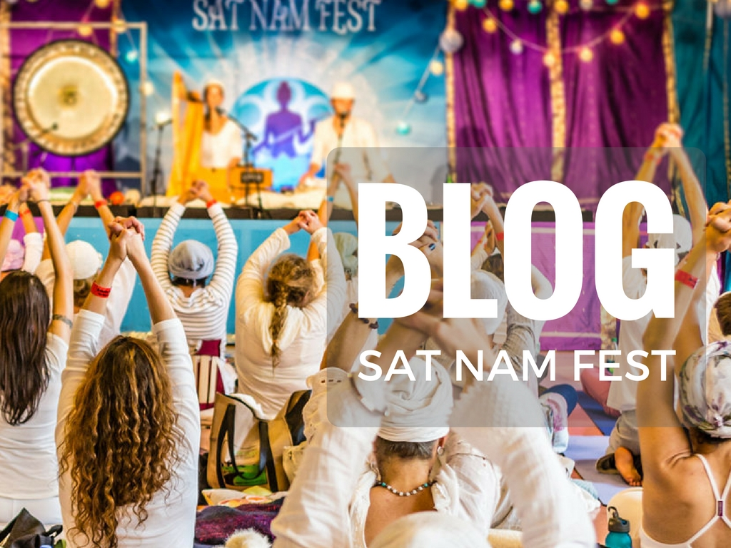 Blog for Sat Nam Fest 2016 by Karla Rasmusson