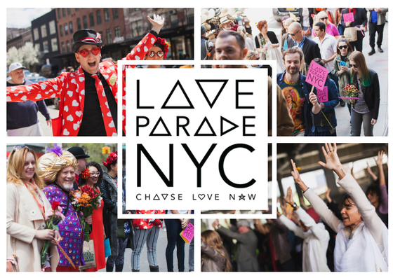 Promotional Flyer for Love Parade NYC 2017