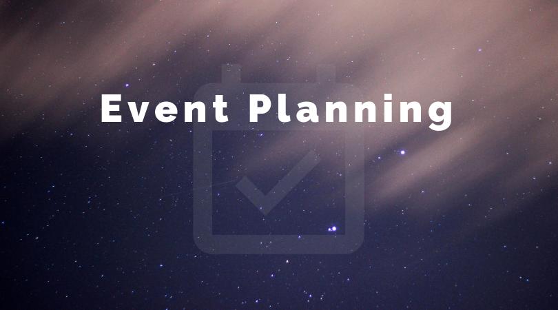 Event Planning - Pop-up ShopsCorporate Events