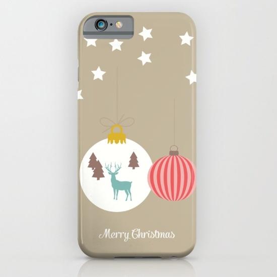 Merry Christmas Phone Case $35 by Francesca