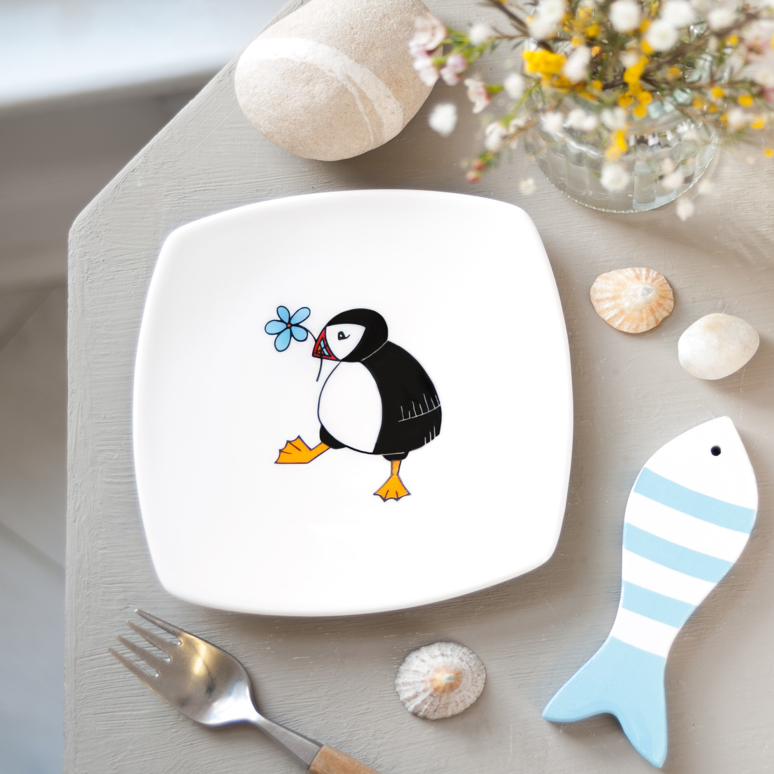 Plates by Helen Russell Creations