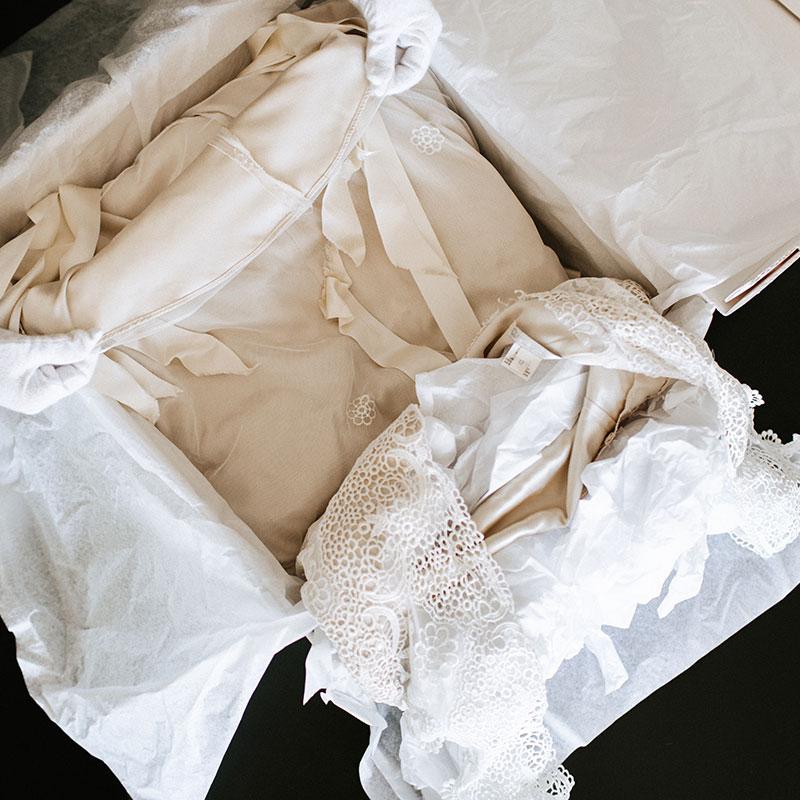 Gown Restoration & Repair