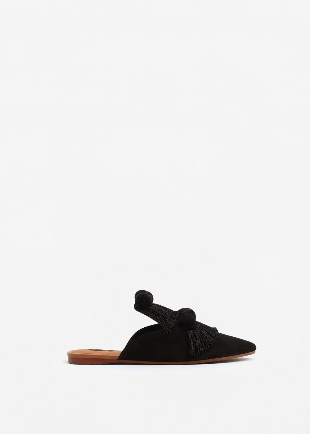 Mango fringed shoes $79.99